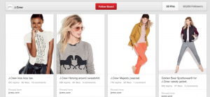 J Crew Pinterest Media Needle Blog